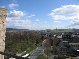 Blick vom Darrtor nach Gorndorf